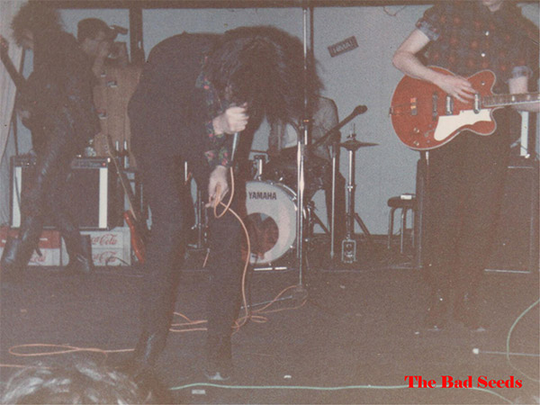 Nick Cave & The Bad Seeds, Hima Club, Νοέμβριος 1984