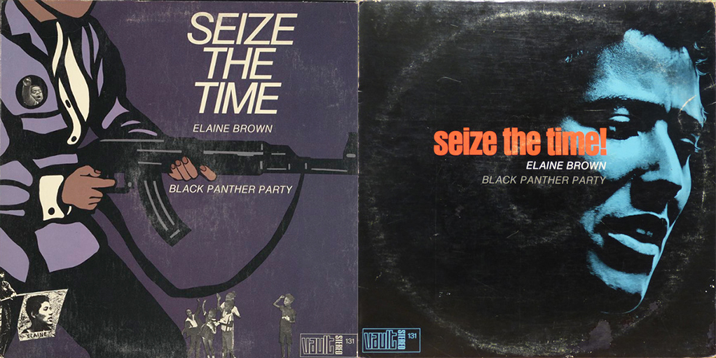 Seize the Time front & back covers