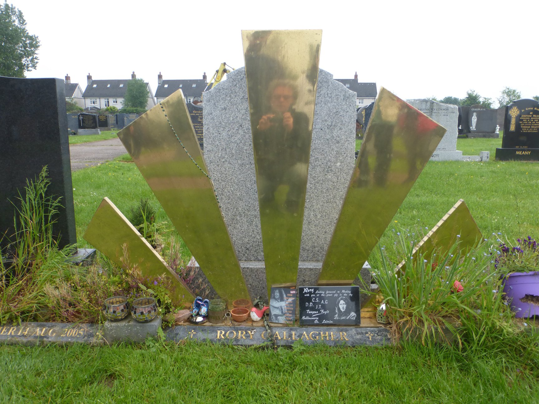 Rory Gallagher's Grave - St Oliver's Cemetery, Ballincollig