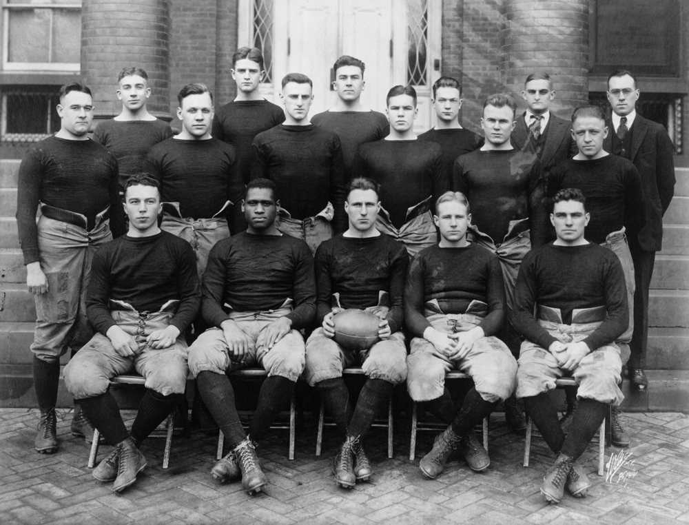 football team at Rutgers University