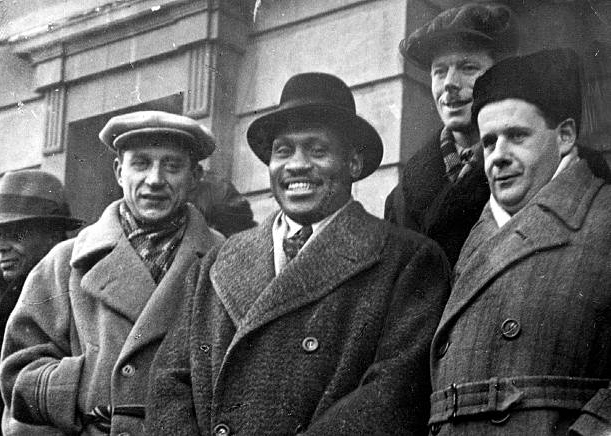 Paul Robeson and Sergei Eisenstein