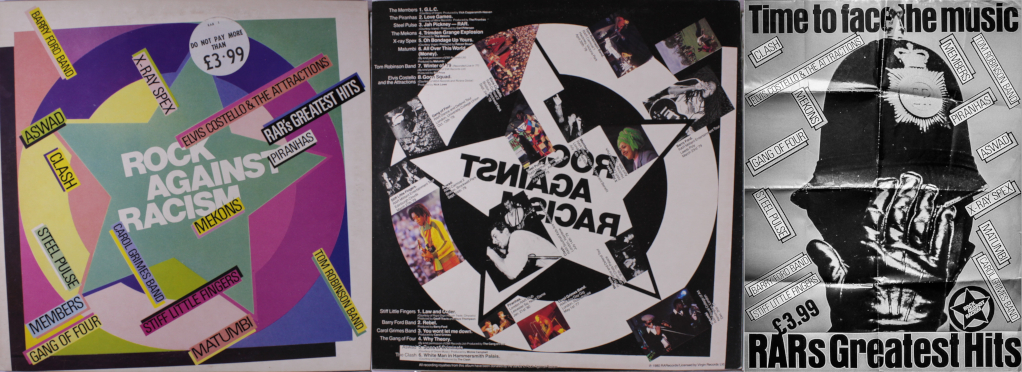 Rock Against Racism Greatest Hits LP