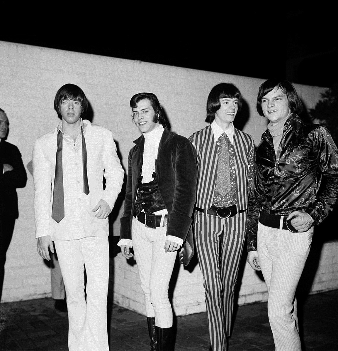 The Seeds (L-R) Sky Saxon, Daryl Hooper,Rick Andridge and Jan Savage) pose for a photo in 1967 in Los Angeles